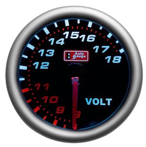 "VOLTMETER ""SMOKE"" 52MM"