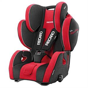 RECARO YOUNG SPORT HERO RØD/SORT