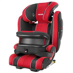 RECARO MONZA NOVA IS SEATFIX RØD/SORT
