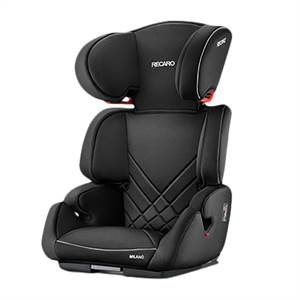* RECARO MILANO SEATFIX, SORT