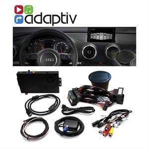 ADAPTIV MULTIMEDIA AUDI - INKL NAVI