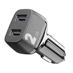 Cellularline 12-24v adapter 2 USB 3.1a fast charge