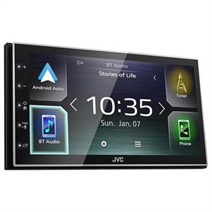 JVC KW-M741BT APPRADIO CARPLAY ANDROID