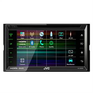 JVC 2 DIN CD/RDS TUNER, BLUETOOTH
