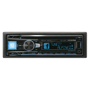 * ALPINE CDE-195BT CD/TUNER BLUETOOTH 3 LINE OUT