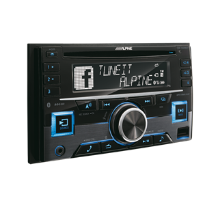 ALPINE 2-DIN CD/TUNER MED BT.