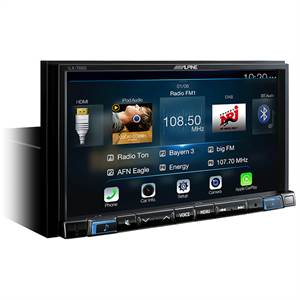 ALPINE ILX-702D APPLE CARPLAY 2-DIN 7""