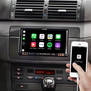ALPINE STYLE ILX-702E46 APPLE CARPLAY 2DIN BMW 3 E46