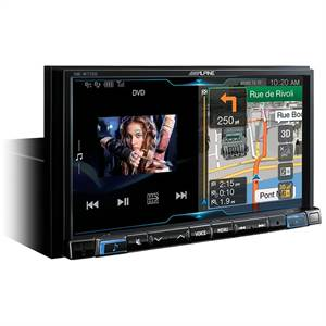 ALPINE 2DIN MULTIMEDIA NAV