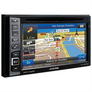 ALPINE 2DIN MULTIMEDIA STATION MED NAVI