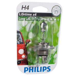H4 LONGLIFE ECOVISION 12V 60/55W P43T-38