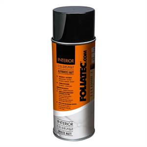 Foliatec Interiør Colour spray hvid mat 400 ml
