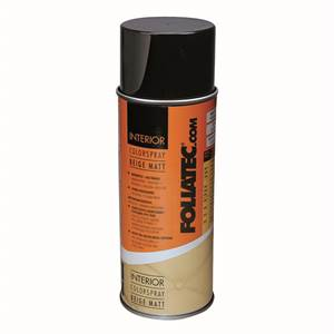 Foliatec Interiør Colour spray, Beige mat 400 ml