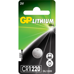 Gp cr1220 batteri stk.