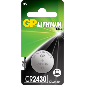 Gp cr2430 batteri stk.