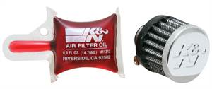 K&N FILTER - FLANGE DIAMETER 8MM