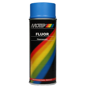 FLOURISERENDE SPRAY 400ML BLÅ