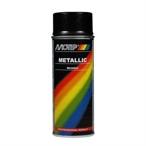 METALLIC EFFEKT LAK 400ML SORT