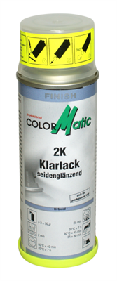CM SPEED KLARLAK SATIN 2 KOMP. 200 ML.