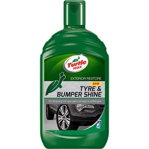 Turtle tyre og bumper shine 500 ml