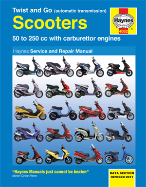 Håndbog scooter rep. manual