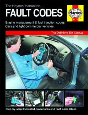 "Håndbog ""the manual on fault codes"""