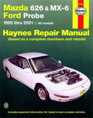 Håndbog Mazda 626/Mx6/Ford Probe 93-01