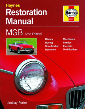 Håndbog Mgb Resturation Manual