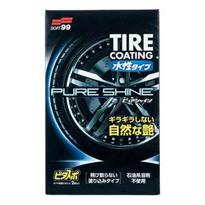 Soft99 Water-Based Tire Coating Pure Shine 100ml