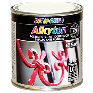 Dc alkyton  glatlak sort 250ml