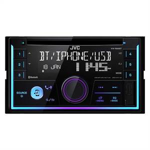 JVC KW-R930BT 2 DIN CD/RDS TUNER, BLUETOOTH