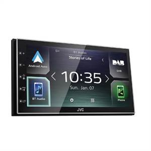 JVC KW-M745DBT APPRADIO CARPLAY ANDROID