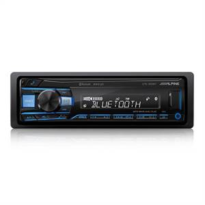 Alpine UTE-200BT tuner/ipod Bluetooth 2 line out